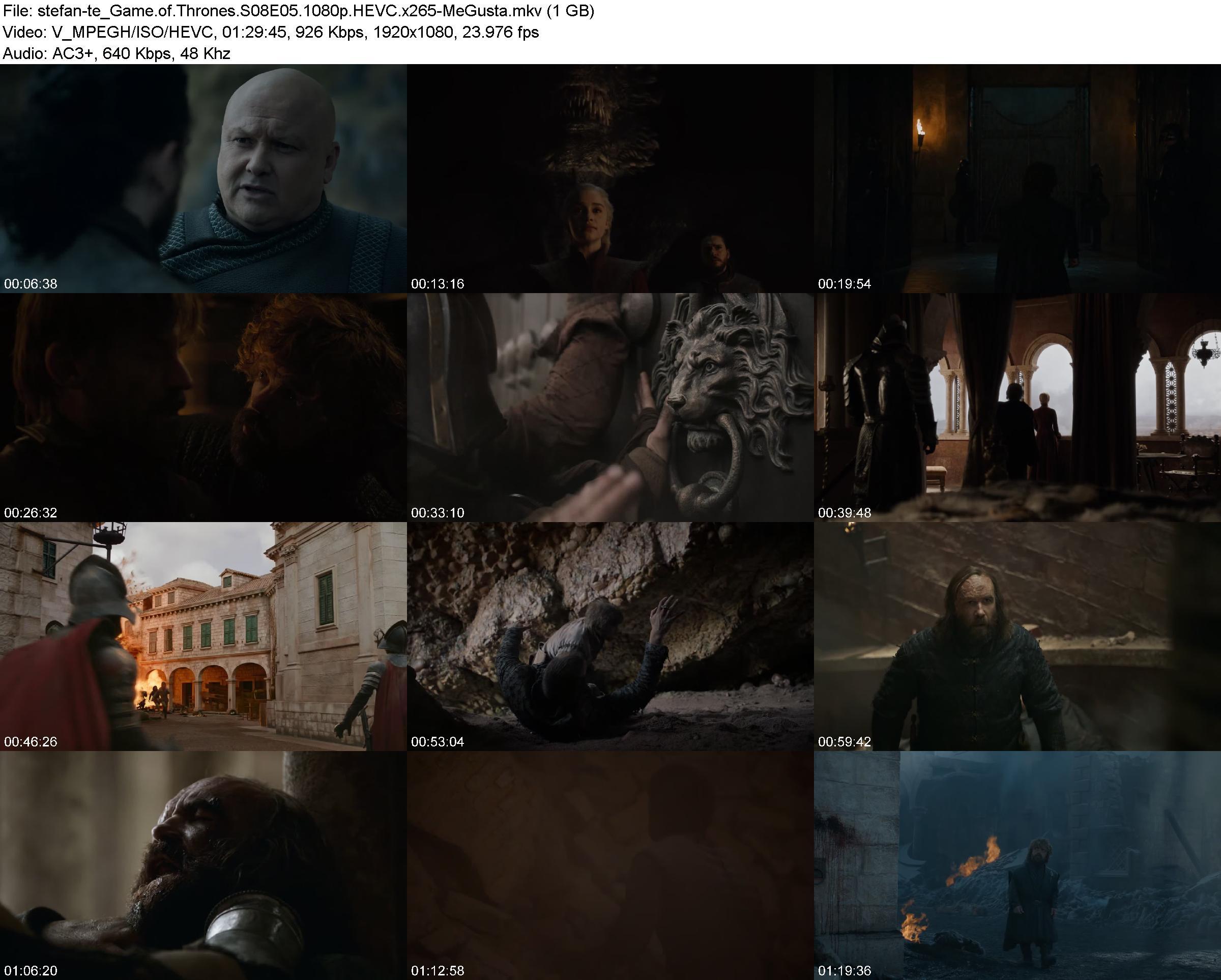 game of thrones s08e05 720p web h264 memento ettv subtitles