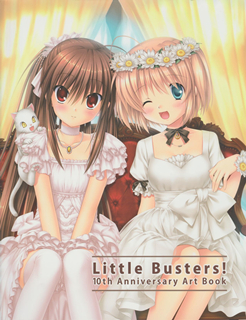 [Artbook] Little Busters! 10th Anniversary Art Book